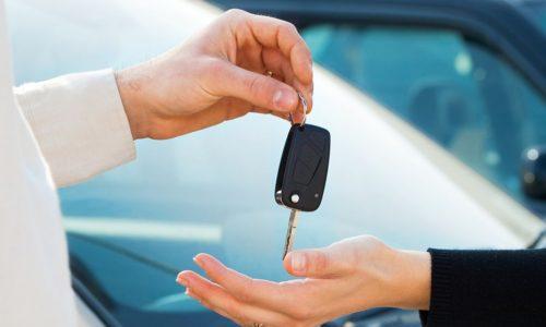 Сдача аренды в машину