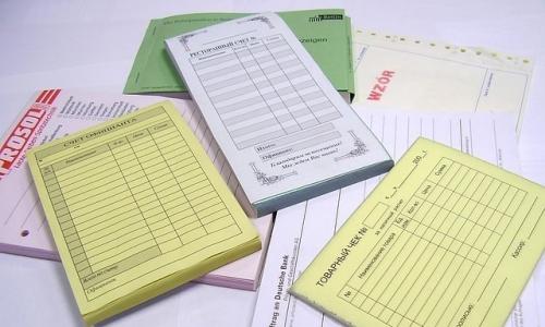 Выписывание бланков строгой отчетности