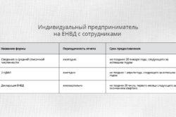 Сдача отчетности на ЕНВД