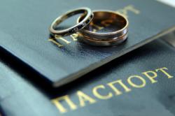 Внесение изменений при смене фамилии