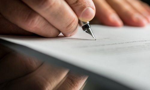 Написание заявления о переходе на ЕНВД