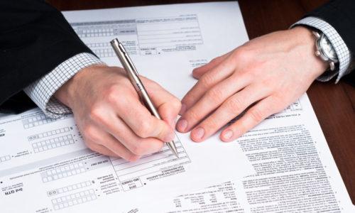 Заполнения налоговых деклараций по каждой точке