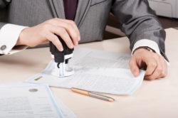Защита официальных документов при помощи печати