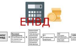 Формула ЕНВД