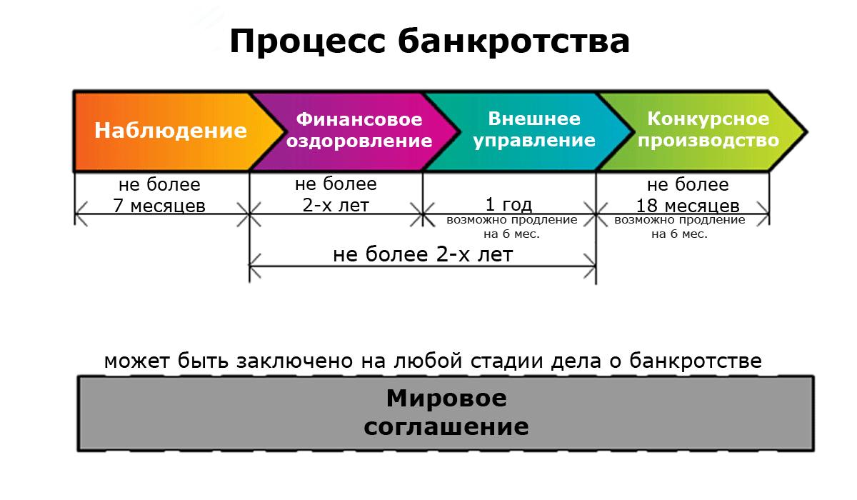 процедуры банкротства в российской федерации Этот вопрос
