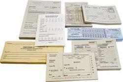 Наличие бланков строгой отчетности для ИП