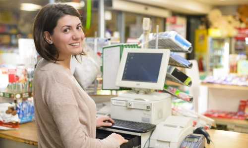 Печать товарного чека