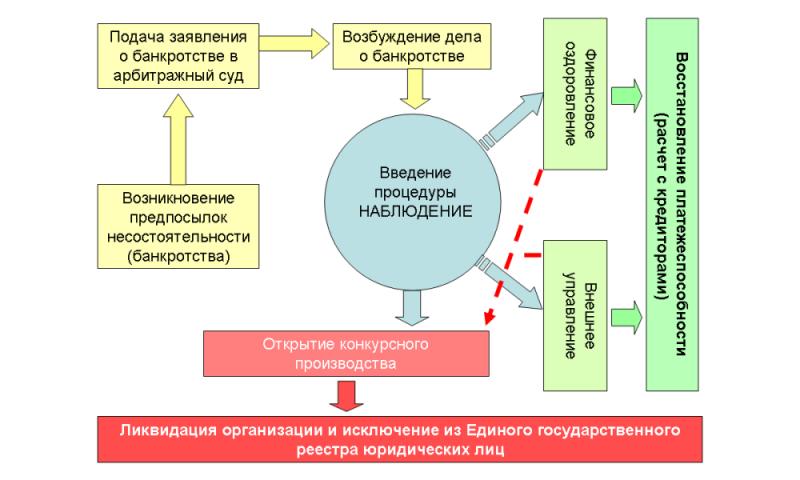 Сопровождение процедуры банкротства физических лиц