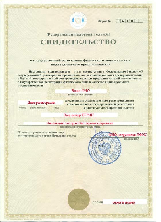 Свидетельство о регистрации ип восстановить регистрация ип онлайн форум